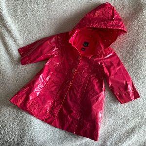 Baby Gap Raincoat and Matching Top size 18-24 mo.